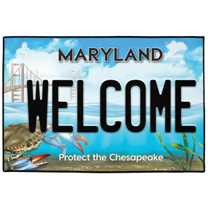 Maryland Welcome Indoor/Outdoor Bay Mats
