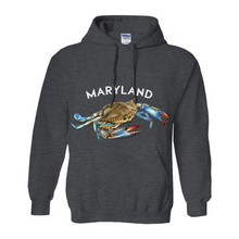 Load image into Gallery viewer, Maryland Chesapeake Bay Hoodie Dark Colors
