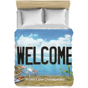 Welcome Bay Plate Comforters