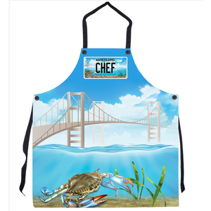 Maryland Chef Bay-BQ Apron