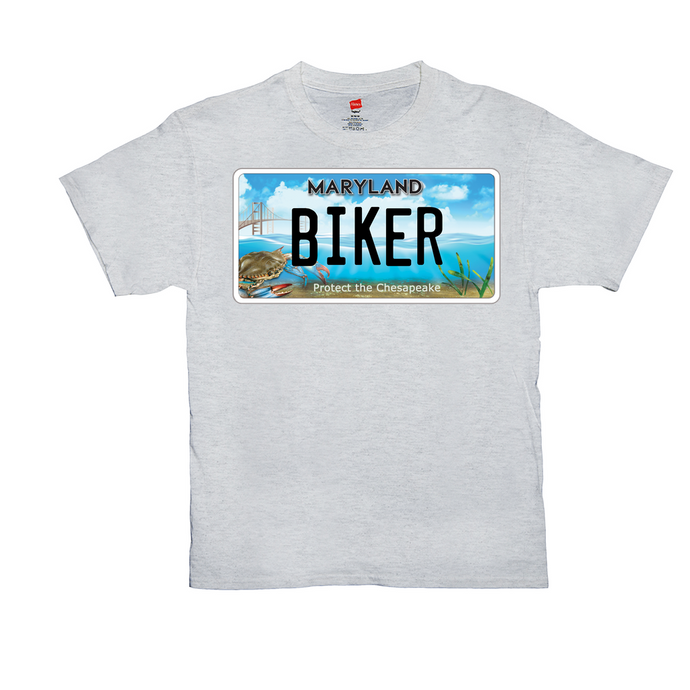 Maryland Bay Plate Biker T-Shirt