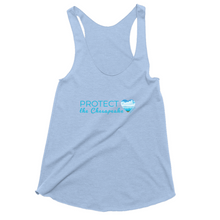 Load image into Gallery viewer, Protect the Chesapeake Women's Tank Tops style 3