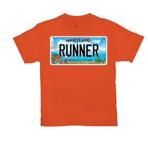 Maryland Bay Plate Runner T-Shirts