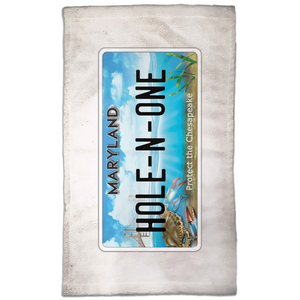 Hole-in-one Golf Towel