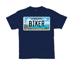 Load image into Gallery viewer, Maryland Bay Plate Biker T-Shirt