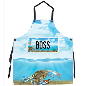 Boss Bay-BQ Apron