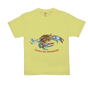 Brightly Colored Protect the Chesapeake T-Shirts