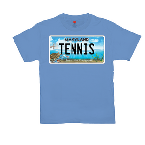 Maryland Bay Plate Tennis T-Shirts