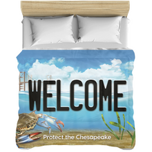 Load image into Gallery viewer, Welcome Bay Plate Comforters