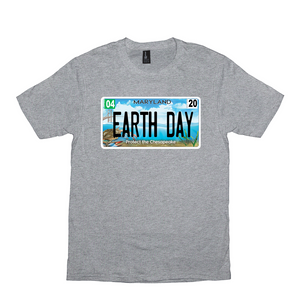 Bay Plate Earth Day T-Shirt
