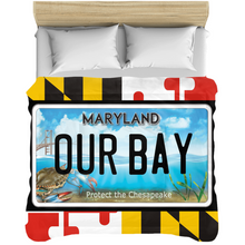 Load image into Gallery viewer, Maryland flag Our Bay Comforters