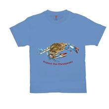 Load image into Gallery viewer, Brightly Colored Protect the Chesapeake T-Shirts