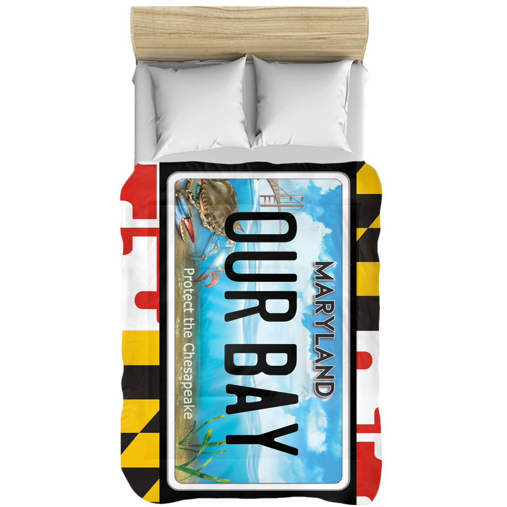 Maryland flag Our Bay Comforters
