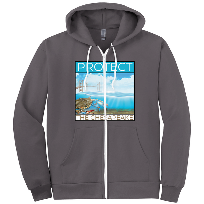 Protect the Chesapeake Hoodies (Zip-up)