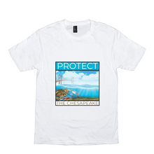 Load image into Gallery viewer, Square Protect the Chesapeake T-Shirts