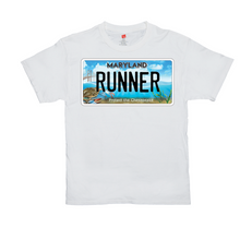 Load image into Gallery viewer, Maryland Bay Plate Runner T-Shirts