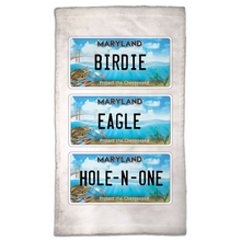 Load image into Gallery viewer, Chesapeake Bay Trust Top Shot Golf Towel