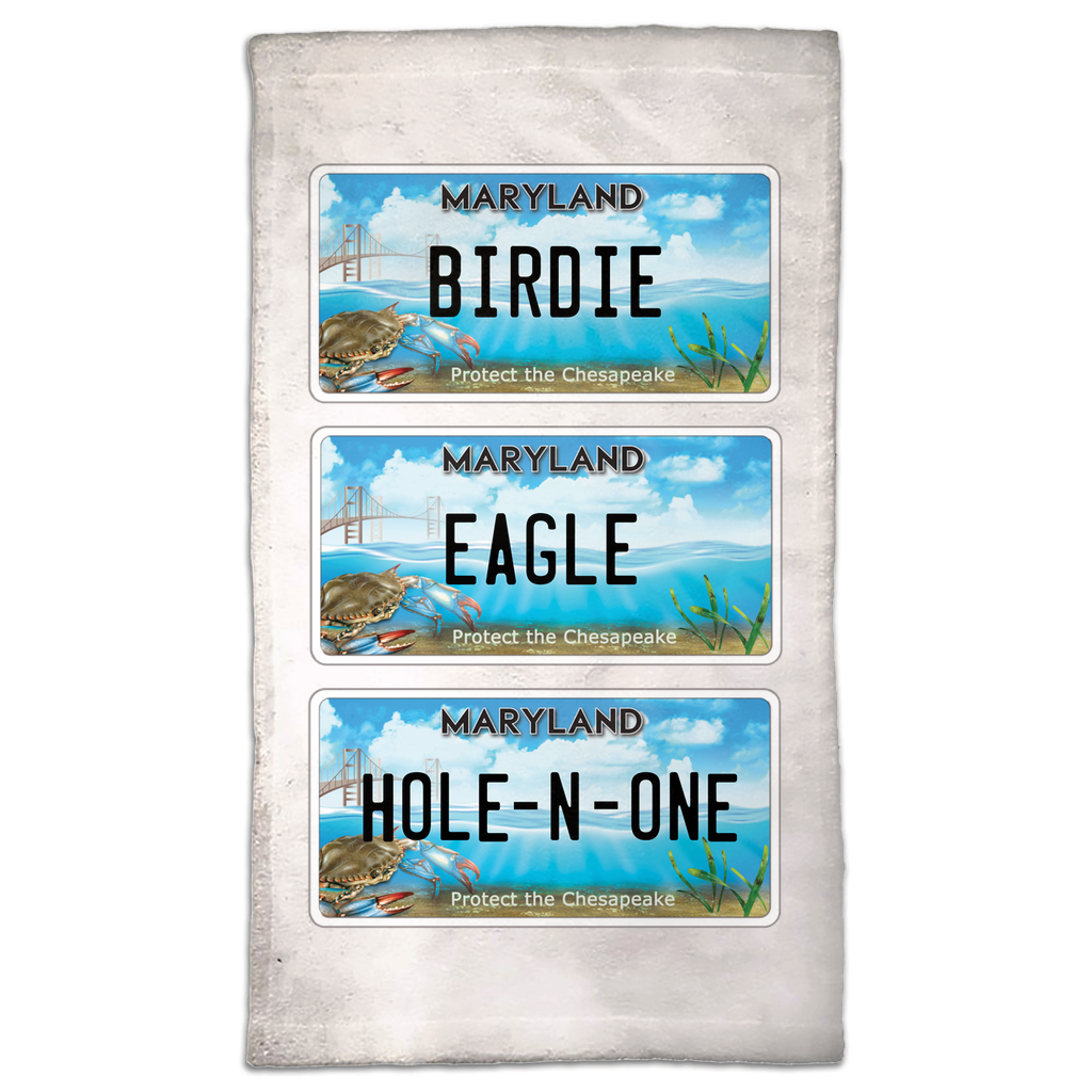 Chesapeake Bay Trust Top Shot Golf Towel