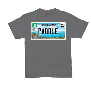 Maryland Bay Plate Paddle T-Shirts