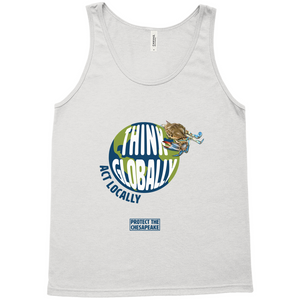 Think Globally Act Locally Men's Tank Tops