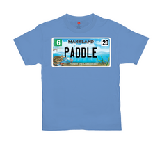 Load image into Gallery viewer, Maryland Bay Plate Paddle T-Shirts