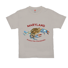 Load image into Gallery viewer, Bright Colored Maryland Protect the Chesapeake T-Shirts