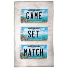Load image into Gallery viewer, Game Set Match Hand Towel