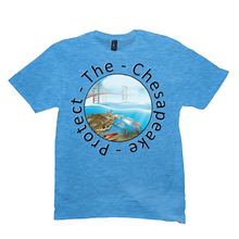 Load image into Gallery viewer, Round Protect the Chesapeake T-shirt