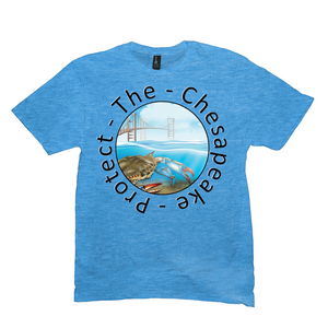 Round Protect the Chesapeake T-shirt