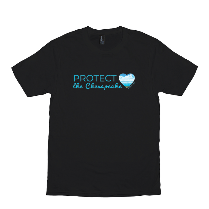 Protect the Chesapeake with heart T-Shirt