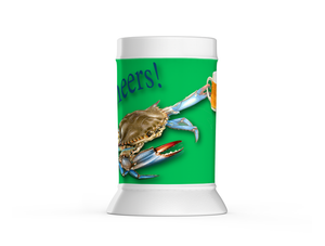 Chesapeake Bay Trust Green Crab Beer Steins