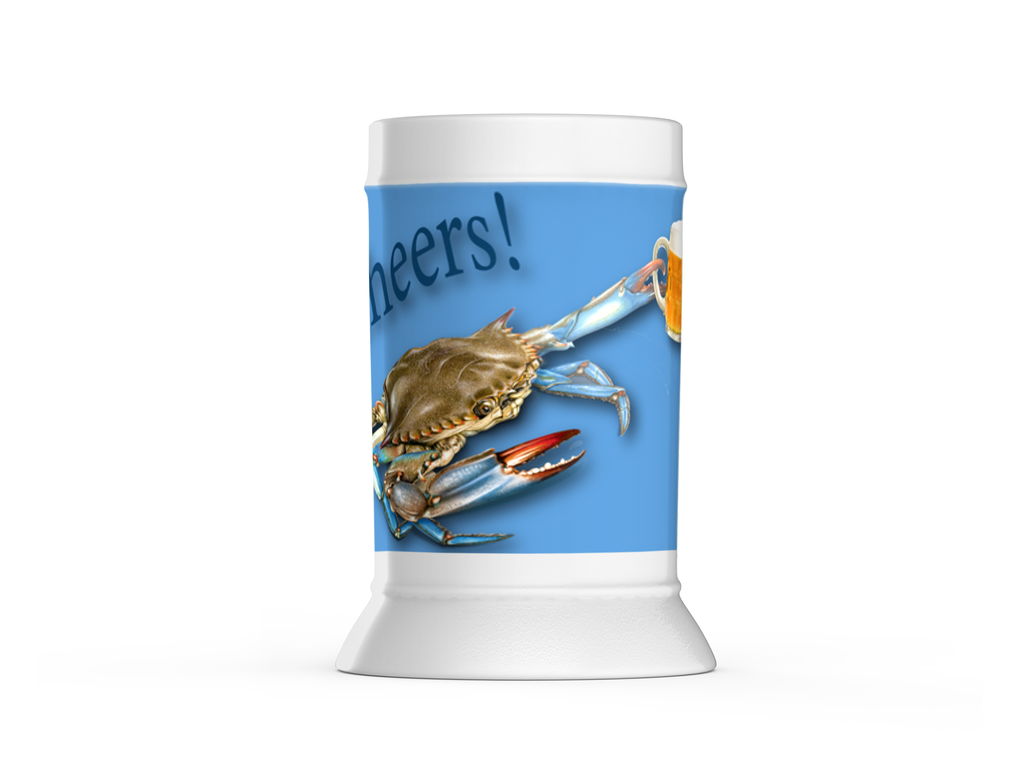 Chesapeake Bay Trust Blue Crab Beer Steins