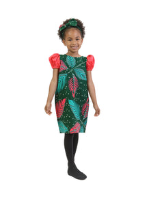 Hello-Miss African Print Straight Dress