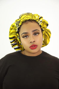Adeola Satin Lined Hair Bonnet