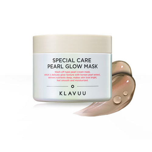 Klavuu Special Care Pearl Glow Mask - Korean-Skincare