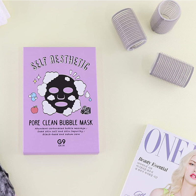 Self Aesthetic Poreclean Bubble Mask