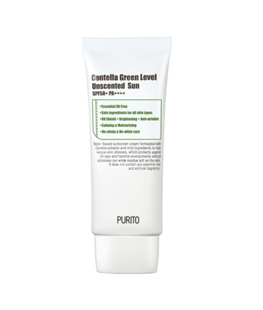 Centella Green Level Unscented Sun