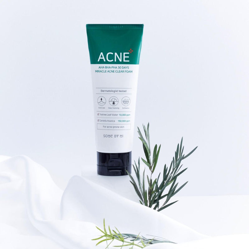 AHA BHA PHA 30 Days Miracle Acne Foam