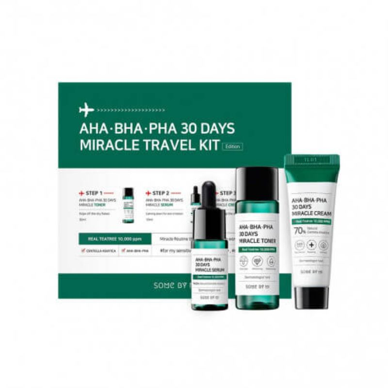 AHA BHA PHA 30days Miracle Travel KIT