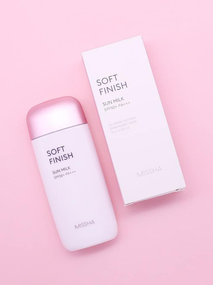 All around safe block soft finish sun milk SPF 50+ PA+++
