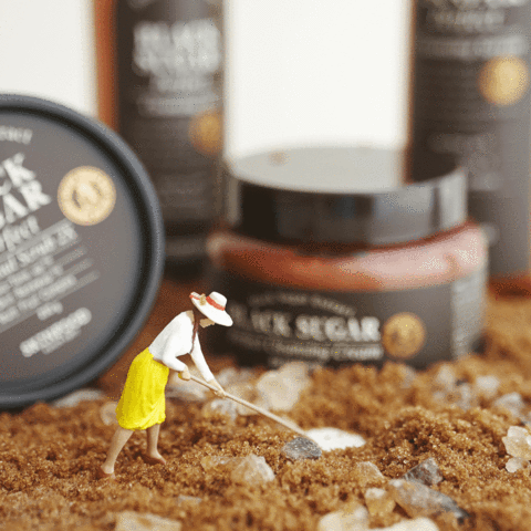 Skinfood Black Sugar Perfect Scrub Foam - Korean-Skincare