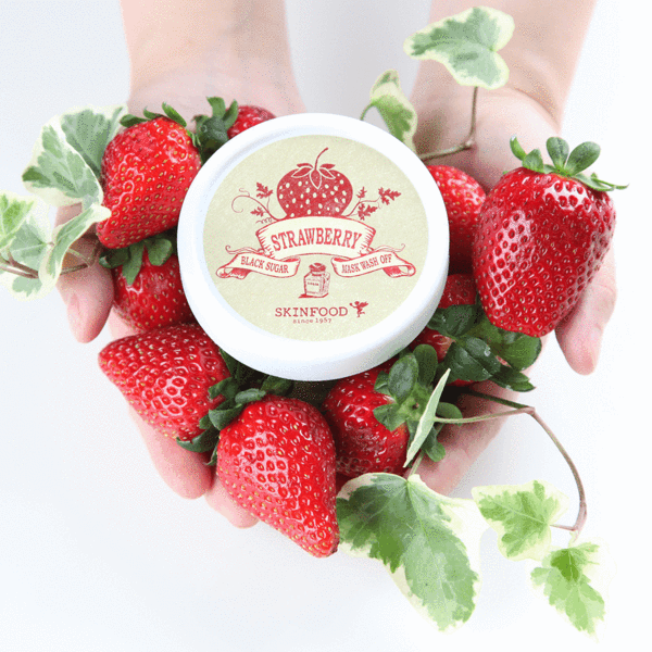 Skinfood Black Sugar Strawberry Mask Wash Off - Korean-Skincare