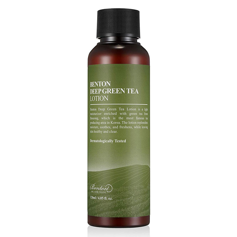 Benton Deep Green Tea Lotion - Korean-Skincare