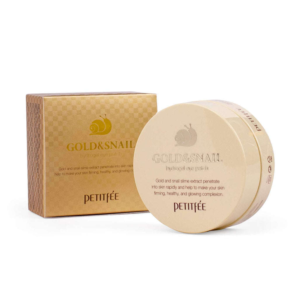 Petitfee Gold & Snail Eye patch - Korean-Skincare