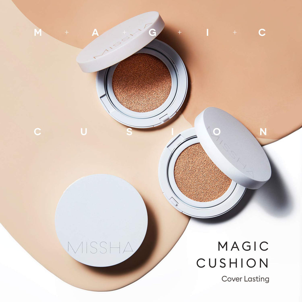 Missha Magic Cushion Cover Lasting #21 SPF50+/PA+++ - Korean-Skincare
