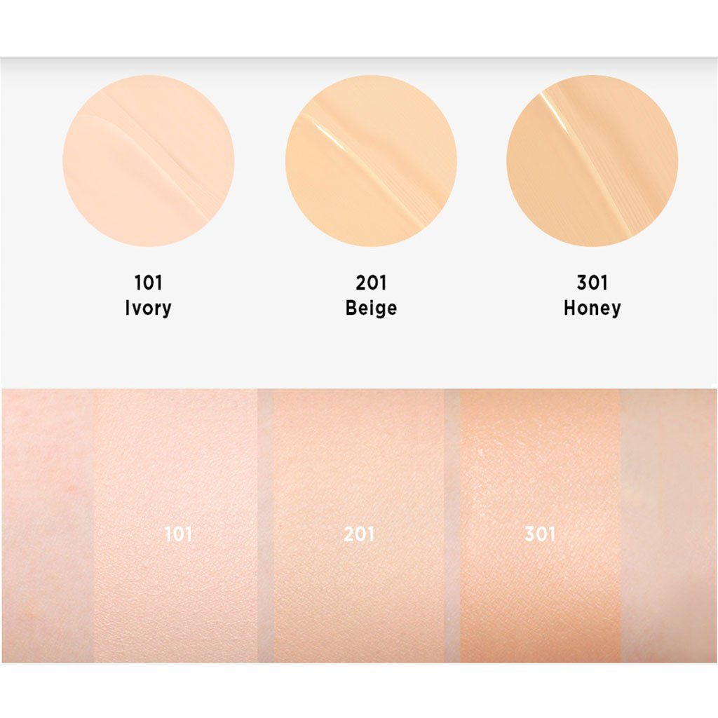 Moonshot Micro Setting Fit Cushion #201 [Beige] SPF50+ PA+++ - Korean-Skincare