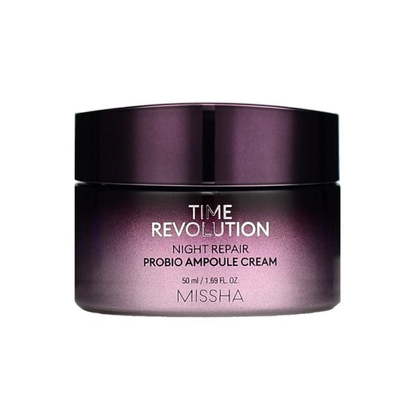Missha Time Revolution Night Repair Probio Ampoule Cream - Korean-Skincare