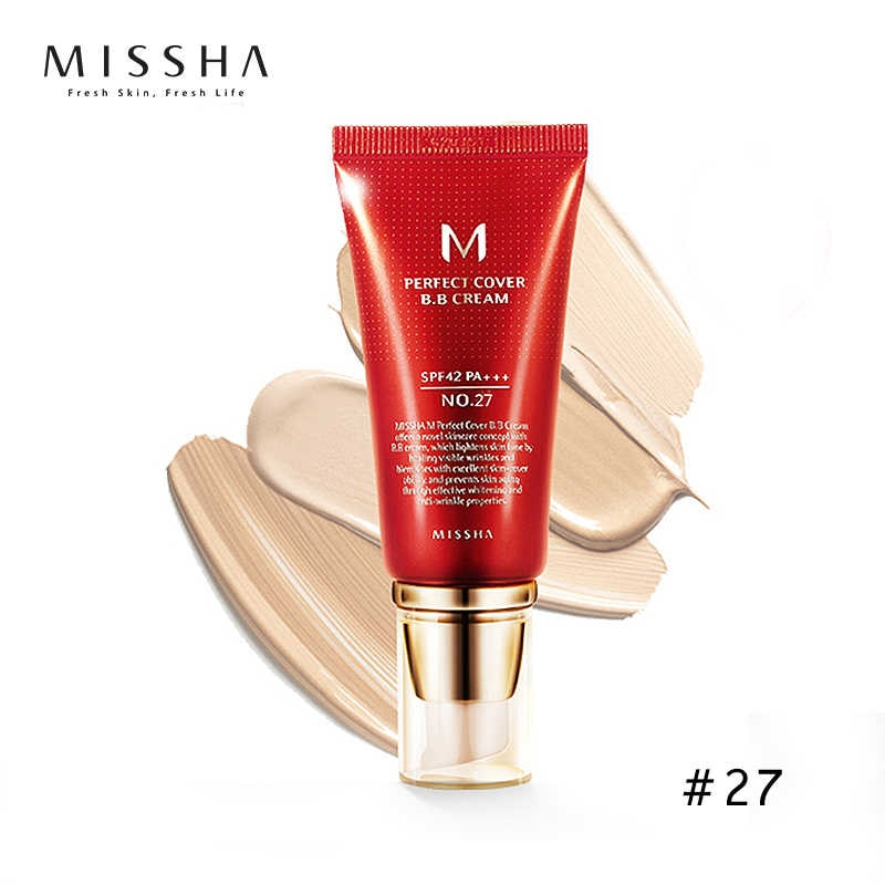 Missha M Perfect Covering BB Cream - Korean-Skincare