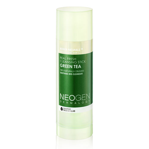 NEOGEN Dermalogy Real Fresh Cleansing Stick Green Tea - Korean-Skincare