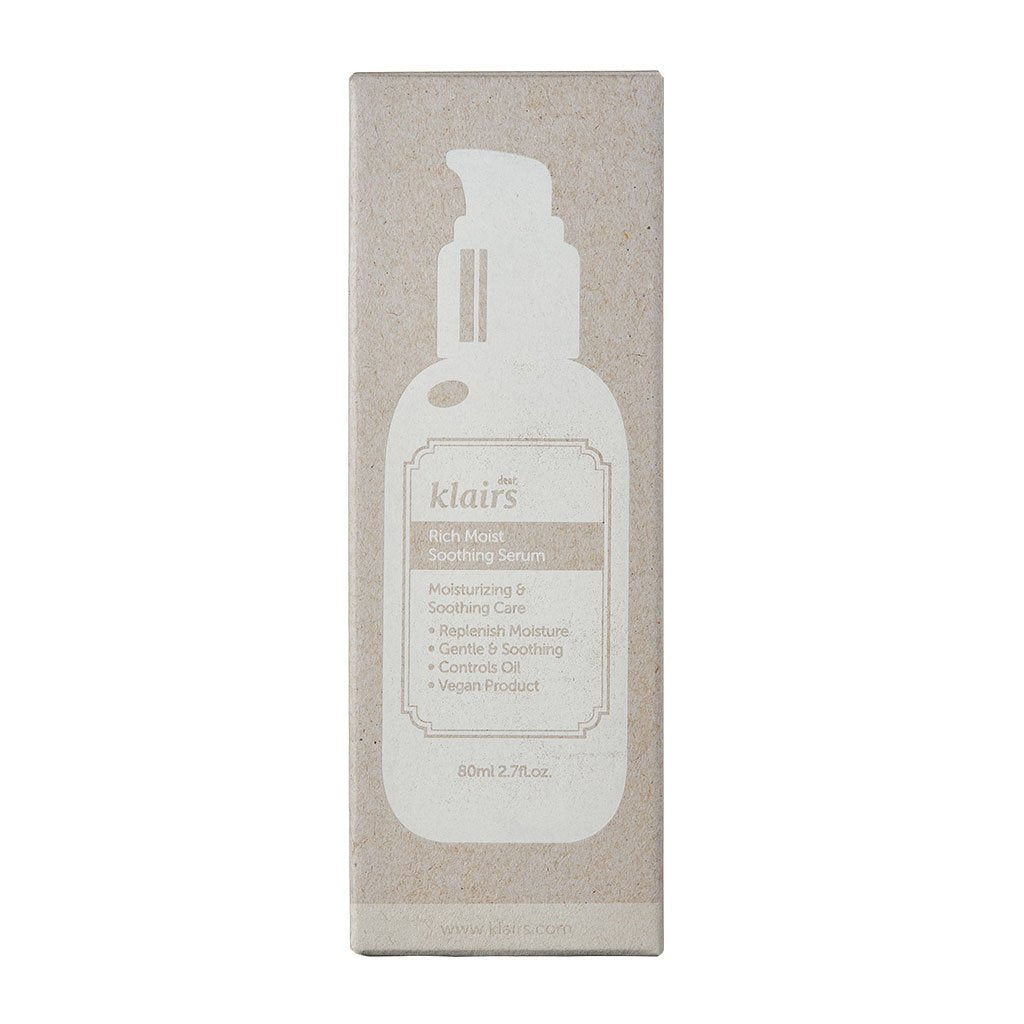 Klairs Rich Moist Soothing Serum - Korean-Skincare